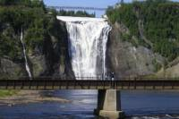 Montmorency Falls Bike Tour in Quebec