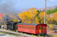 Mount Washington Cog Railroad from New Hampshire