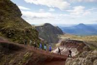 Mt Tarawera Volcanic Guided Hike Experience