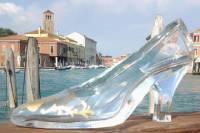 Murano Glass Blowing Demo plus Cinderella's Iconic Glass Slipper Contest
