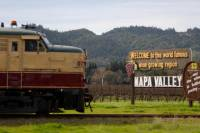 Napa Valley Wine Train with Gourmet Lunch, Wine Tasting and Vineyard Tours