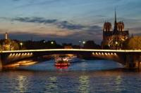 New Year's Eve Seine River Cruise with 4-Course Dinner, Wine and Entertainment