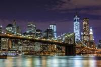 NYC at Night: Sightseeing Cruise and Bus Tour