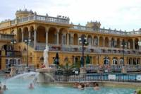 One day luxury Tour with limousine and thermal spa in Budapest