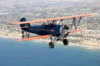 Open Cockpit Biplane Sightseeing Ride