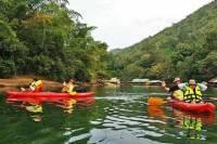Overnight Kwai Noi River Kayaking Trip from Kanchanaburi