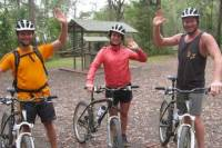 Overnight Minyon Falls Mountain Bike Tour and Mount Warning Sunrise Climb from Byron Bay