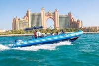 Palm Jumeirah Burj Al Arab and The Atlantis guided RIB tour