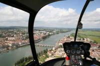 Panoramic helicopter tour of Macon - Southern Burgundy