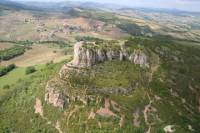 Panoramic helicopter tour of the 2 Rocks - Southern Burgundy