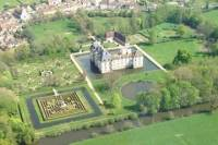 Panoramic helicopter tour of the Southern Burgundy Castles