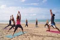 Pine Grove Beach Yoga Class