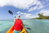 Pinel Island Kayaking and Hiking Tour