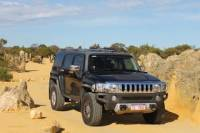 Pinnacles 4WD Hummer Day Tour from Perth Including Moore River Guilderton Cervantes Caversham Wildlife