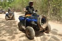 Playa del Carmen Combo Tour: ATV and Zipline with Cenote Swim