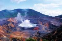 Poas Volcano and La Paz Waterfall Gardens Day Tour