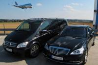 Prague Airport Shuttle: Private Arrival Transfer in Mercedes-Benz Vehicle