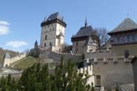 Prague Full-Day Guided Bike Tour to Karlstejn Castle