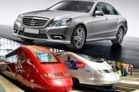 Private Arrival Transfer by Luxury Car from Berlin Central Station