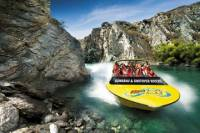 Private Arrival Transfer: Queenstown Airport to Hotel by Jet Boat