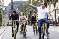 Private Bamboo Bicycle Tour in Barcelona