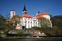 Private Day Tour from Prague: Sazava Monastery, Cesky Sternberk Castle, Chateau Zleby and Sedlec Ossuary Including Lunch