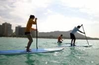 Private Group Stand-Up Paddling Lessons