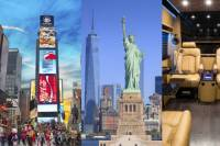Private Luxury Tour of New York City by Limo, Sprinter Van or Mini Coach