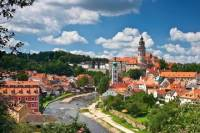 Private Luxury Transfer from Prague to Cesky Krumlov with Wi-Fi and Refreshment