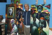 Private Tour: Meet South African Artists at their home studios Including Wine Tasting from Cape Town
