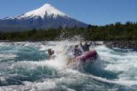 Rafting at Petrohue River from Puerto Varas