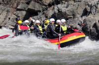Rafting on the Jiu River