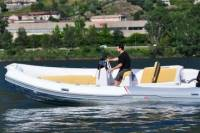 Rent a rigid inflatable boat for up to 8 people in Saint-Tropez - License required