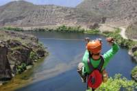 River Rafting and Zipline Tour from Salta with Argentine BBQ Lunch