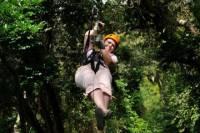 Roatan Shore Excursion: Zip 'n' Dip Canopy Tour