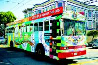 Rock 'n' Roll Combo: Alcatraz and Magic Bus San Francisco Tour