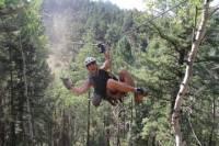 Rocky Mountain Zipline Adventure from Denver