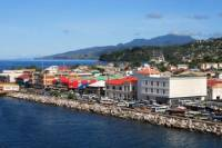 Roseau City Sightseeing and Beach Tour