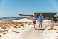 Rottnest Island Historical Train and Tunnel Tour from Hillarys Boat Harbour