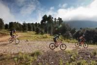 Route of the Mills Mountain Bike Tour