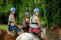 San Jose Combo Tour: Horseback Riding and Sarapiquí River Boat Ride
