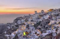 Santorini Sunset Dinner Cruise Including Nea Kameni Visit and Wine Tasting