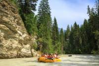 Scenic Rafting Trip on the Blaeberry River