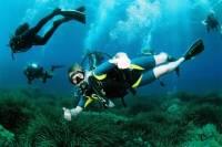 Scuba Diving Baptism in Ibiza