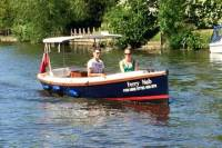 Self Drive Boat Adventure down the Historic River Thames from Maidenhead
