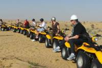Self-Drive Desert Buggy or Quad Bike Experience with Transport from Dubai