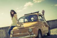 Self-Drive Tour in Taormina by Vintage Fiat 500