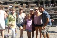 Skip the line: Colosseum Kids and Grandpa Private Tour