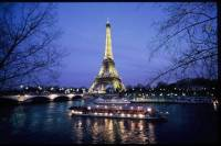 Skip the Line Eiffel Tower Entrance Ticket and Illumination Cruise in Paris