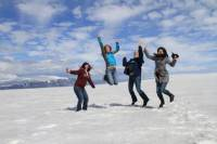 Small-Group Golden Circle Tour with Optional Snowmobiling on a Glacier